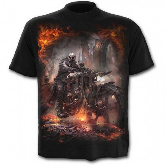 tričko s motivem Steam Punk Rider