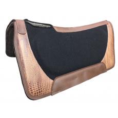 Podsedlová deka GVR Multi-layer felt leather with GATOR print