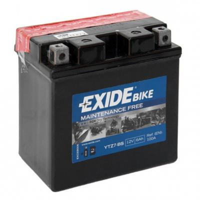 baterie bezúdržbová YTZ7-BS, 12V, 6Ah