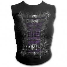 dámské tílko bez rukávů s motivem Waisted corset