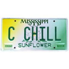 originál použitá SPZ Mississippi USA