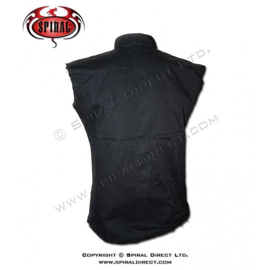 košile černá bez potisku