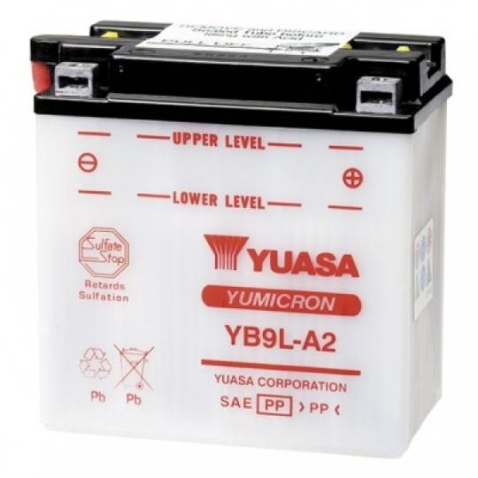 baterie údržbová YB9L-A2, 12V, 9Ah
