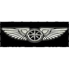 nášivka Yamaha křídla