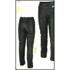 kalhoty 786-1527 Jeans kožené na chopper