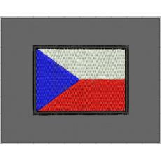 nášivka česká vlajka