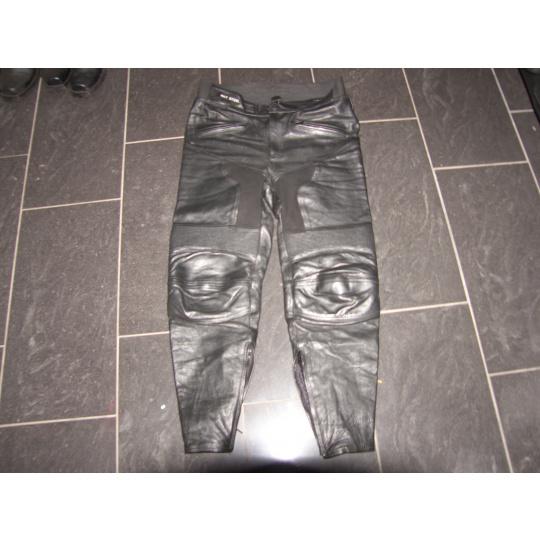 kožené kalhoty Ret Steel