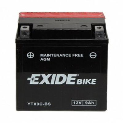 baterie bezúdržbová YTX9C-BS, 12V, 9Ah