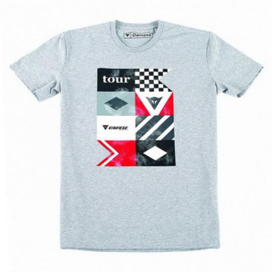 Pánské triko s krátkým rukávem Dainese TOUR, vel.L