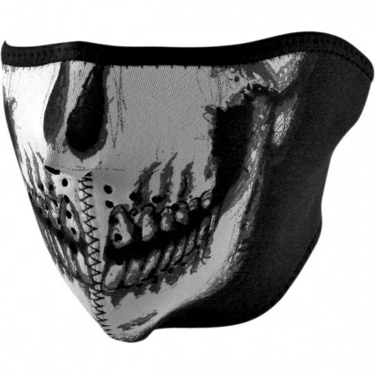neoprénová maska na obličej Skull face