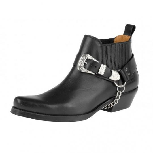 boty K068 kotníkové western
