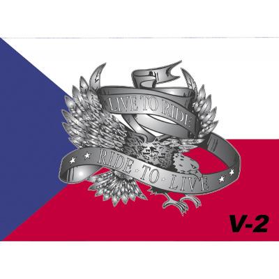 Vlaječka V2 česká+live