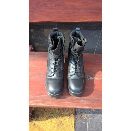 koženo-textilní policejní boty