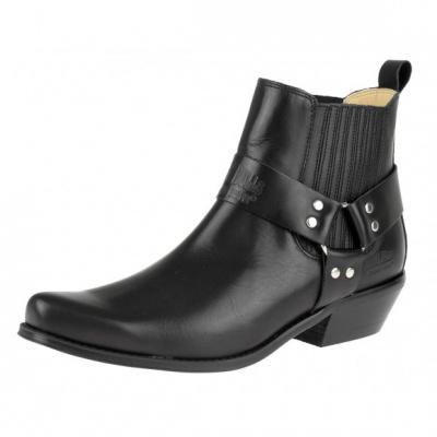 boty K086 kotníkové western
