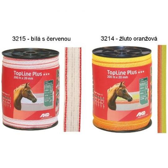 Polyetylenová páska pro elektrický ohradník Top-Line Plus