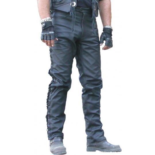 kalhoty KP-1 se šněrováním kožené