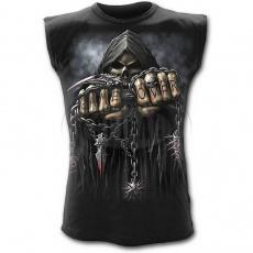 tričko bez rukávů s motivem Game Over