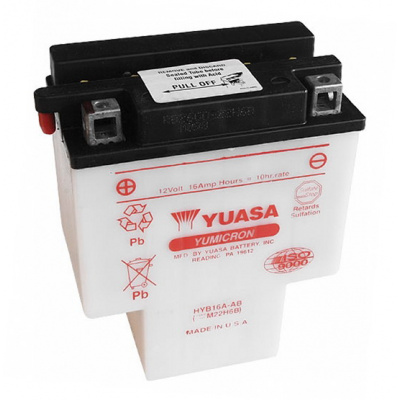 baterie údržbová HYB16A-AB, 12V, 16Ah