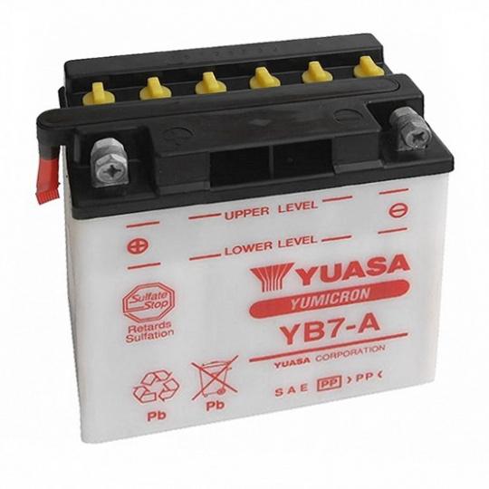 baterie údržbová YB7-A, 12V, 8Ah
