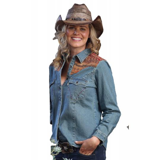 dámská westernová košile ELVITA