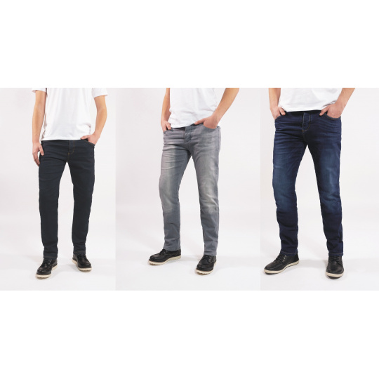 kevlarové kalhoty JOHN DOE Ironed Mechanix Jeans