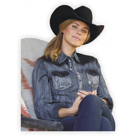 dámská westernová košile KYRA