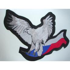 nášivka orel + česká vlajka