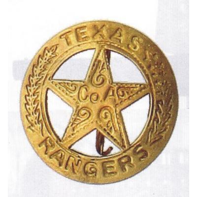 sheriffská hvězda TEXAS RANGER kruh