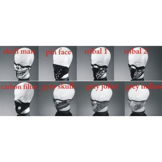Obličejová maska neoprénová