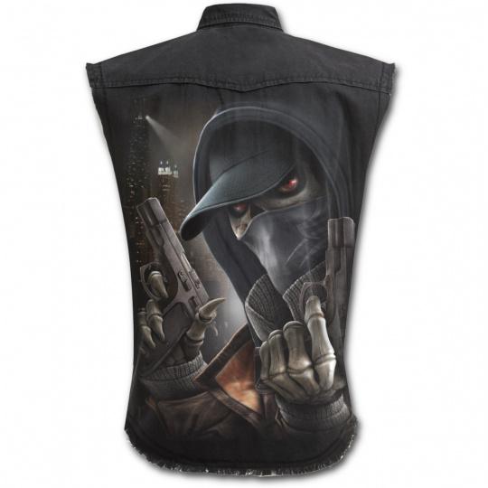 Košile bez rukávů s motivem STREET REAPER