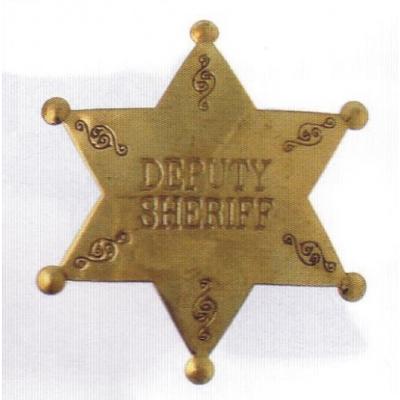 sheriffská hvězda DEPUTY SHERIFF