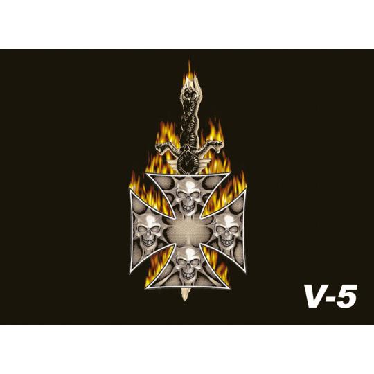 Vlaječka V5 kříž
