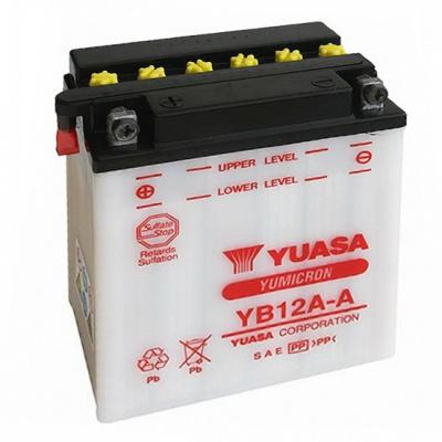 baterie údržbová YB12A-A, 12V, 12Ah