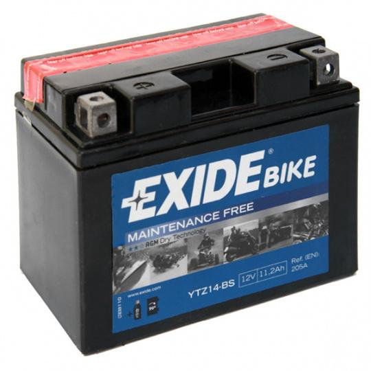 baterie bezúdržbová YTZ14-BS, 12V, 11,2Ah