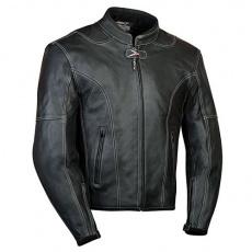 kožená bunda na motorku Larros