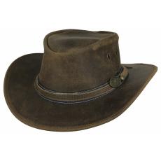 kožený klobouk Irving