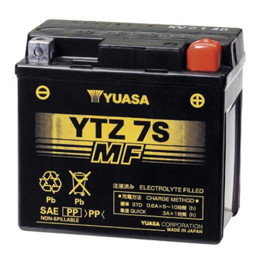 baterie bezúdržbová YTZ7S, 12V, 6Ah