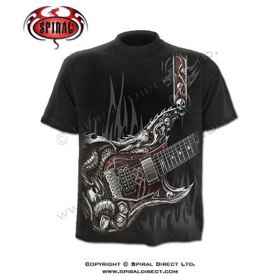 tričko s motivem Air Guitar