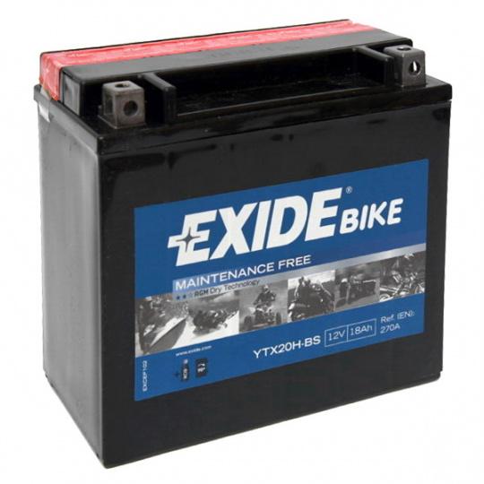 baterie bezúdržbová YTX20H-BS, 12V, 18Ah