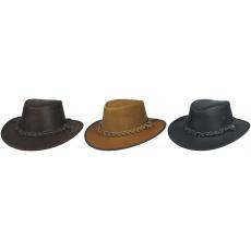 kožený klobouk Hooley
