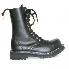 boty KMM 10 dírkové fialové, velikost 41 - bazar