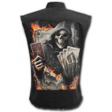 Košile bez rukávů s motivem ACE REAPER
