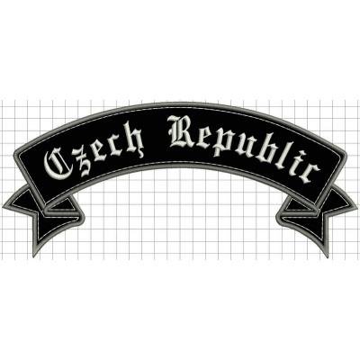 nášivka czech republic horní