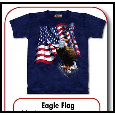 tričko s motivem Eagle Flag