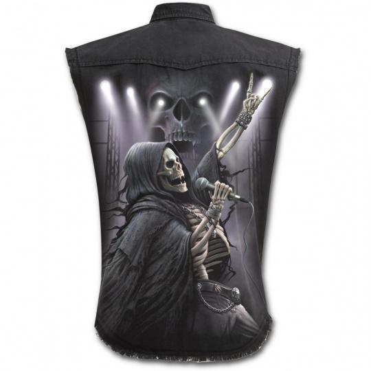 Košile bez rukávů s motivem ROCK 4EVER