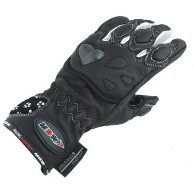 dámské kožené rukavice na motorku 51236 Daisy