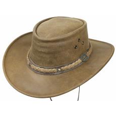 kožený klobouk Townsville