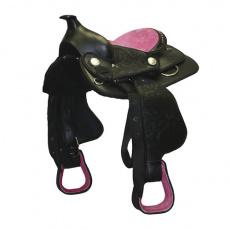 Westernové sedlo pony Think Pink