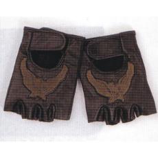 rukavice Gortrud 2375 bezprsté kožené s orlem