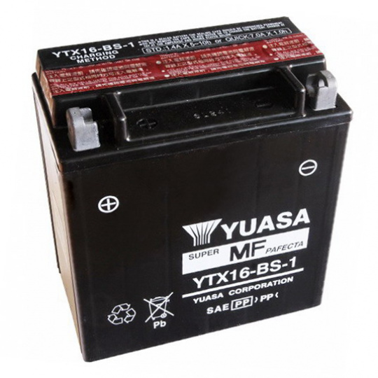 baterie bezúdržbová YTX16-BS-1, 12V, 14Ah